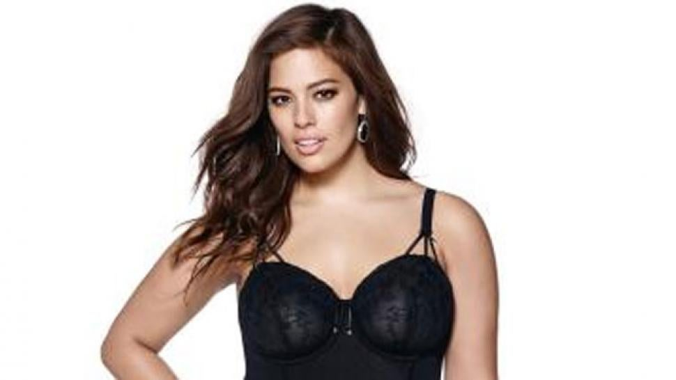 711157f5bbc Plus-Size Model Ashley Graham Launching  Fifty Shades of Grey -Inspired Lingerie  Line