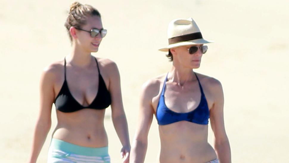 Robin Wright And Daughter Dylan Penn Flaunt Their Matching Flawless Bikini Bods