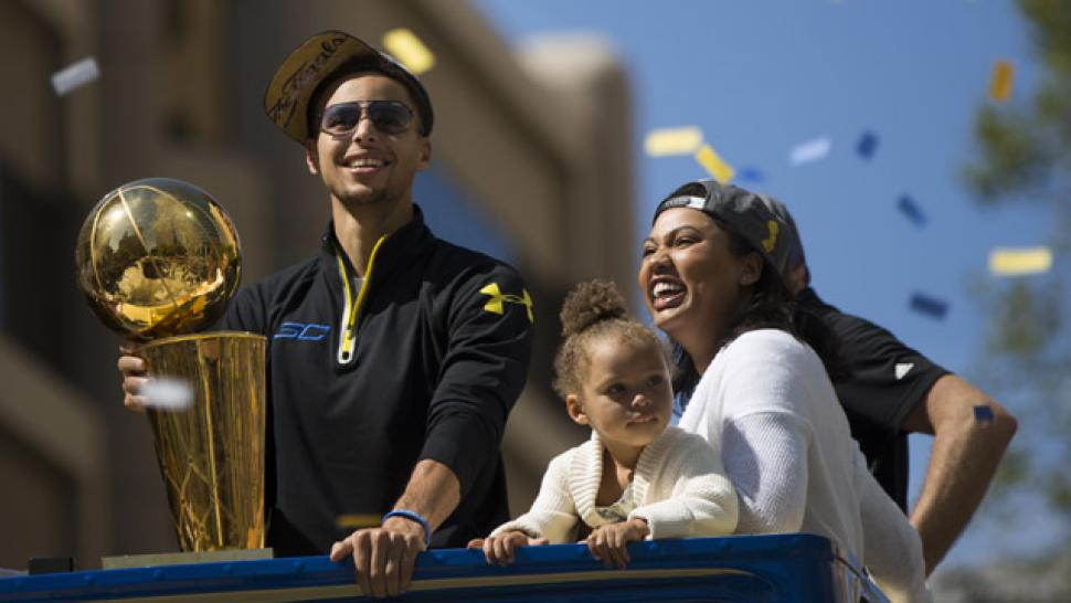 8b3fb1d23b5e Stephen Curry s Wife Ayesha Shares Adorable Pic of Daughter Ryan ...