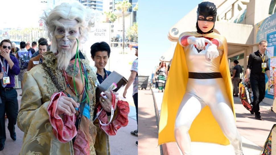 Getty Images  sc 1 st  Entertainment Tonight & Best Costumes at Comic-Con 2015 | Entertainment Tonight