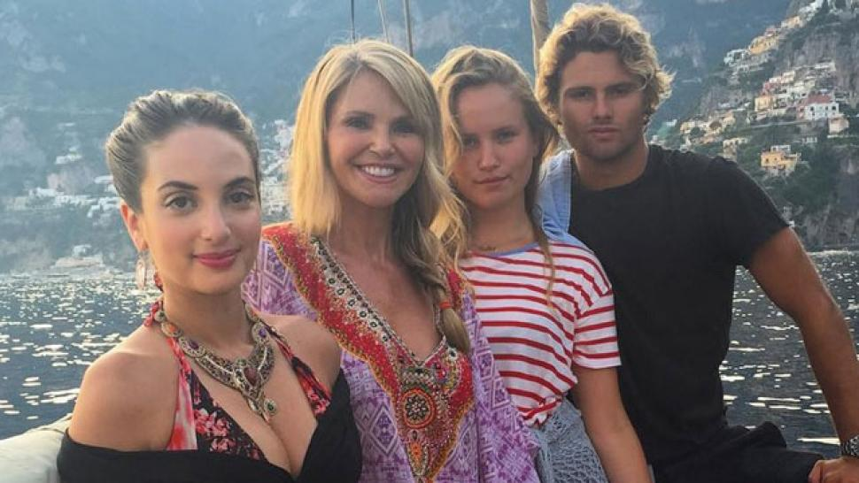 christie brinkleys children are taking after their mom by