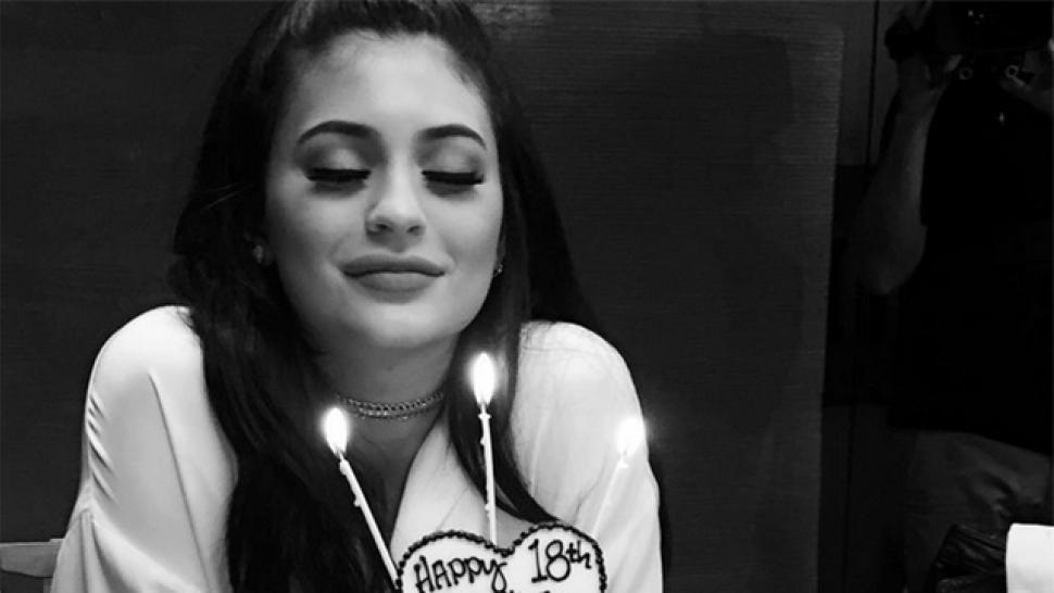 Kylie Jenner Kicks Off 18th Birthday Celebration With Family Dinner