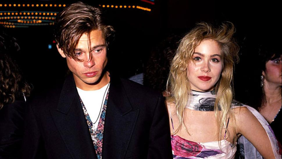 Christina Applegate Plays Coy as to Why She Ditched Brad Pitt at ...