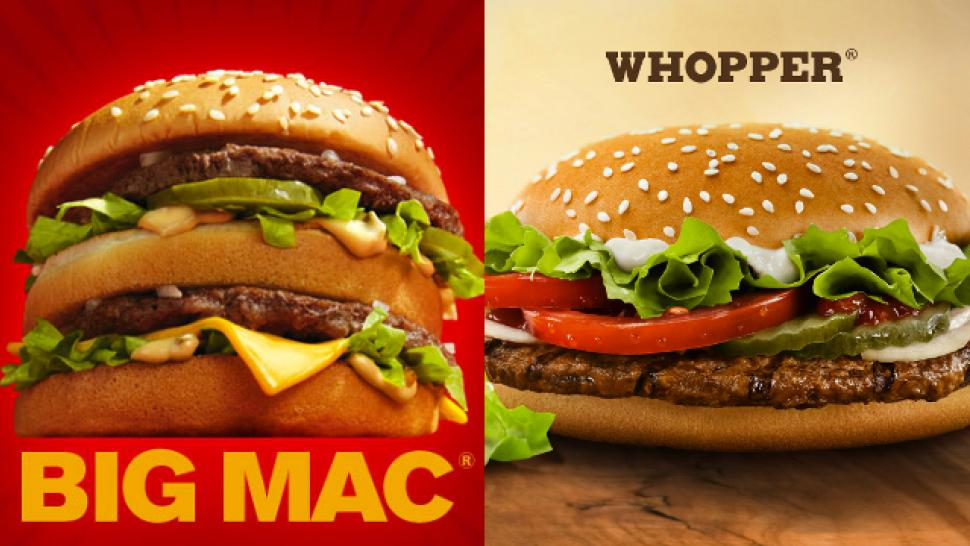 McDonalds Rejects Burger Kings Proposed Plan To Make A McWhopper For Good Cause