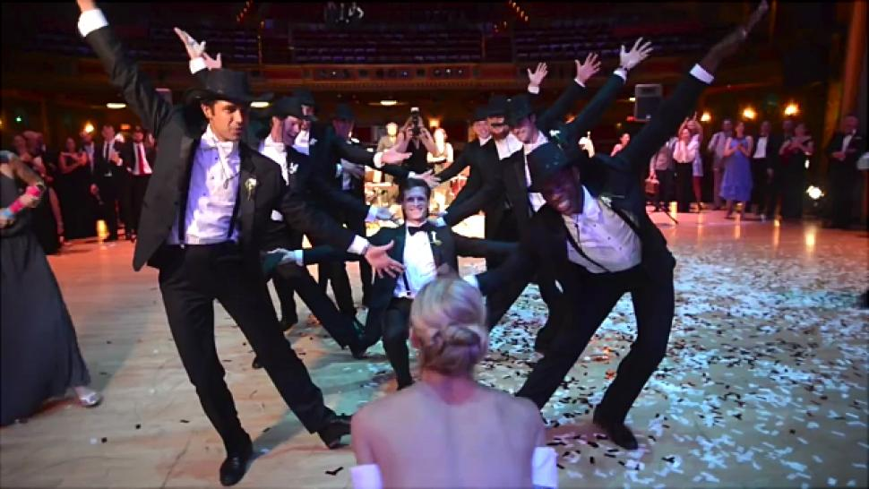U Tube Wedding Dances.These Professional Ballet Dancers And Newlyweds Set The Bar For