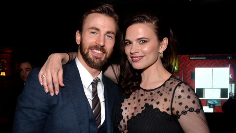 Chris Evans and Hayley...