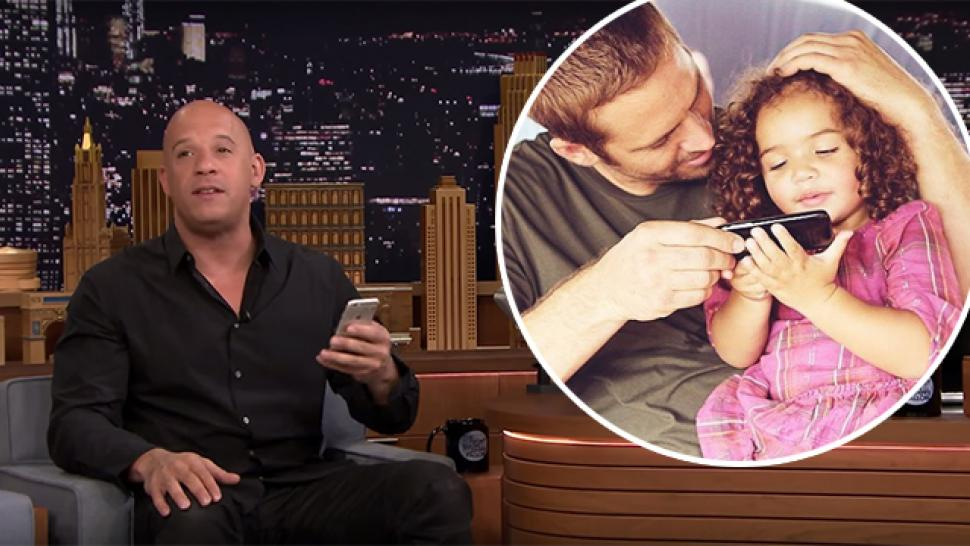 Vin Diesel Shares an Adorable Text His 7-Year-Old Daughter Sent ...