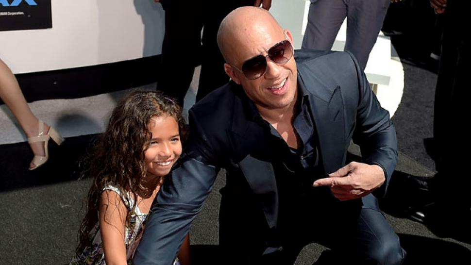 Vin Diesel Enlists Ronda Rousey to Train His 7-Year-Old Daughter ...