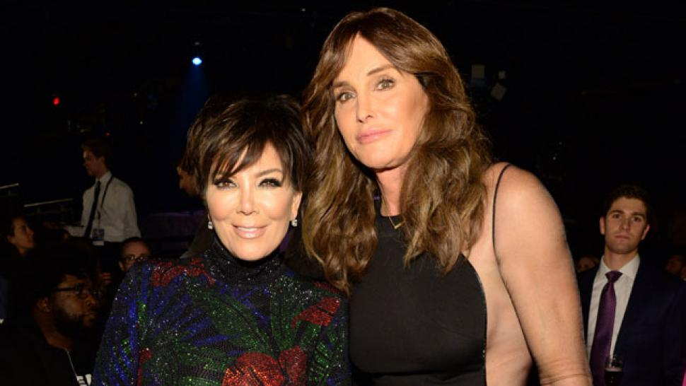 Kris Jenner and Caitlyn Jenner