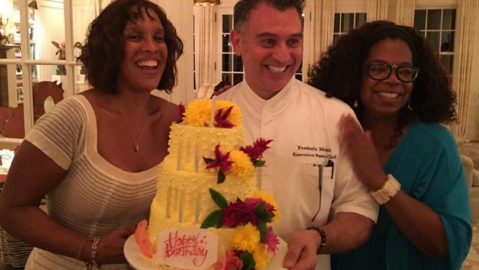 Outstanding Gayle King Fell Off The Weight Watchers Wagon For Her Birthday Funny Birthday Cards Online Overcheapnameinfo