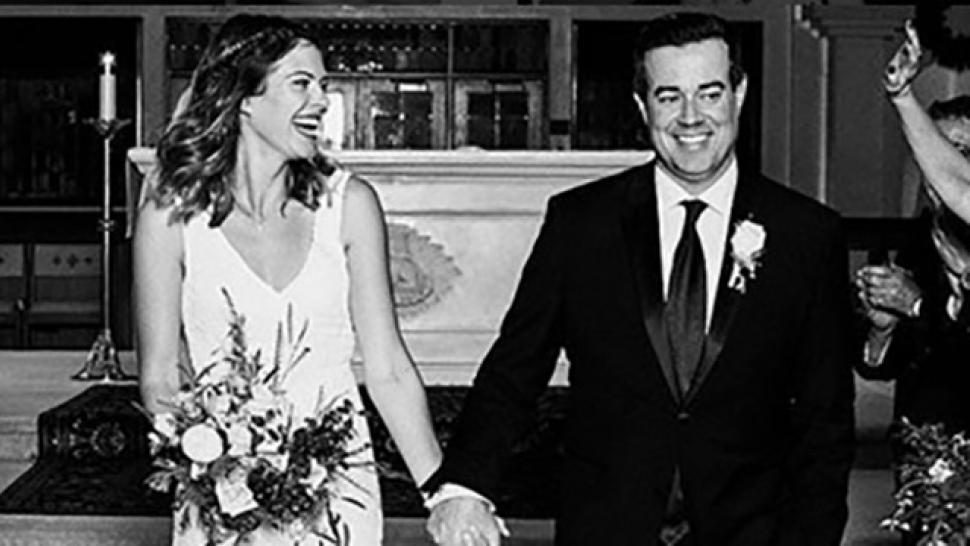 How Carson Daly Surprised His Family With Secret Wedding To Siri