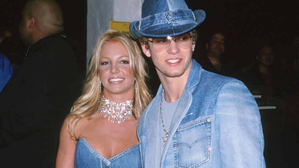 britney spears and justin timberlake 39 s iconic matching denim outfits turn 15 entertainment. Black Bedroom Furniture Sets. Home Design Ideas