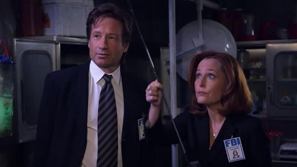 jimmy kimmel finally gets mulder and scully to hook up on x files