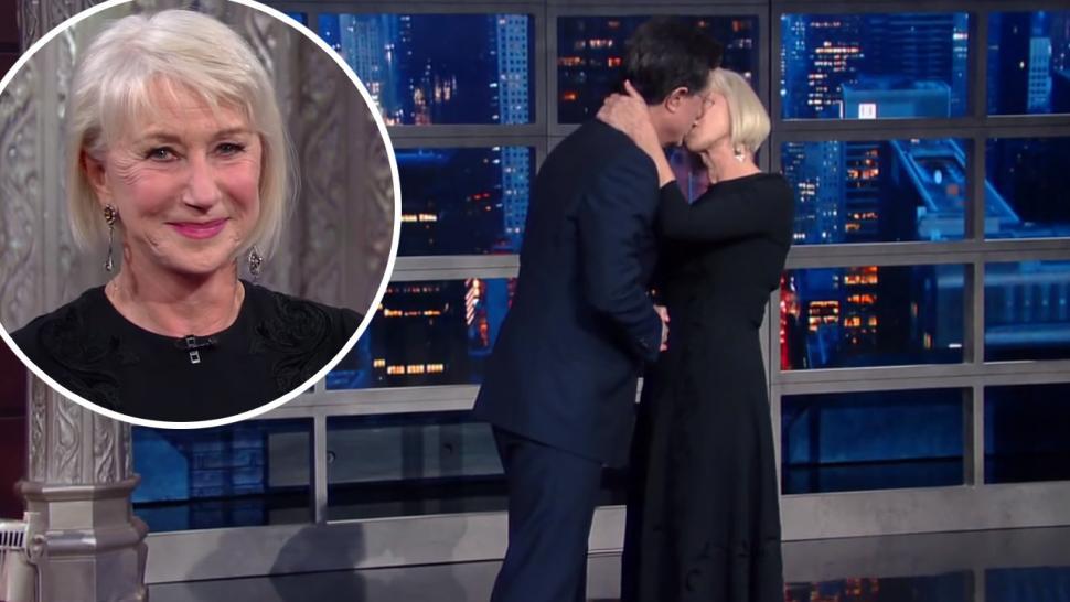 Helen Mirren Leaves Stephen Colbert Speechless With -9544