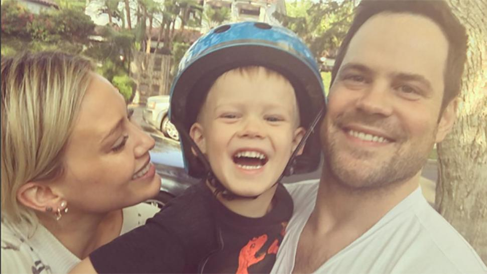 Hilary Duff And Ex Husband Mike Comrie Celebrate Son Luca S 4th Birthday Together We Are So Proud Of This Bo