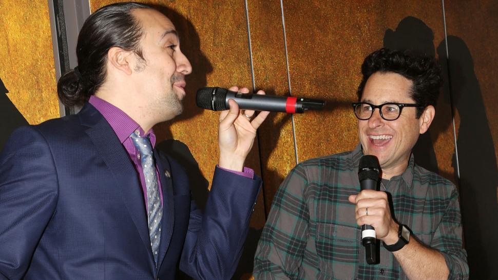 Hamilton S Lin Manuel Miranda And J J Abrams Celebrate Star Wars
