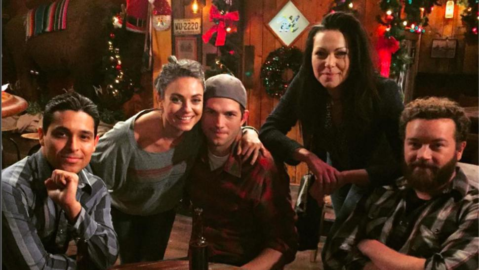 that 70s show cast had a major reunion on the ranch