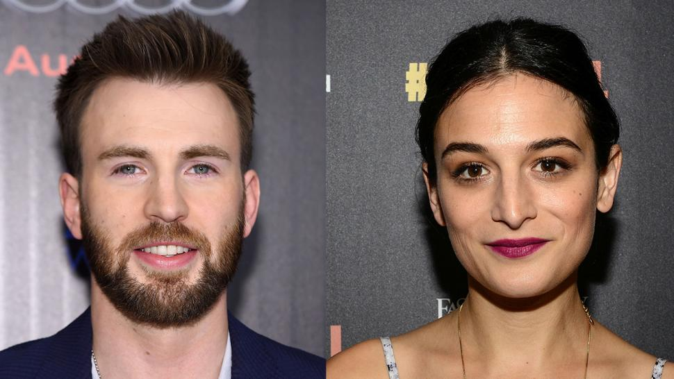chris evans and jenny slate are officially back together