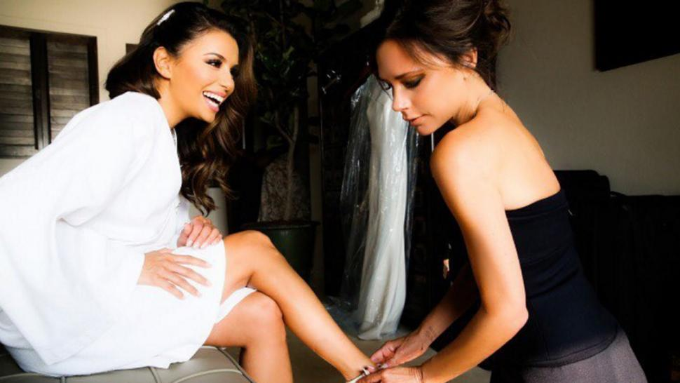Eva Longoria Says Her Wedding Was A Victoria Beckham Weekend She The Best Sweetest Person