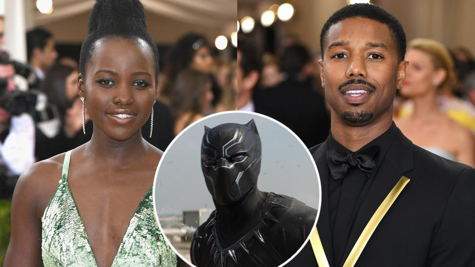 Lupita Nyong O And Michael B Jordan Join Chadwick Boseman In Marvel S Black Panther Entertainment Tonight
