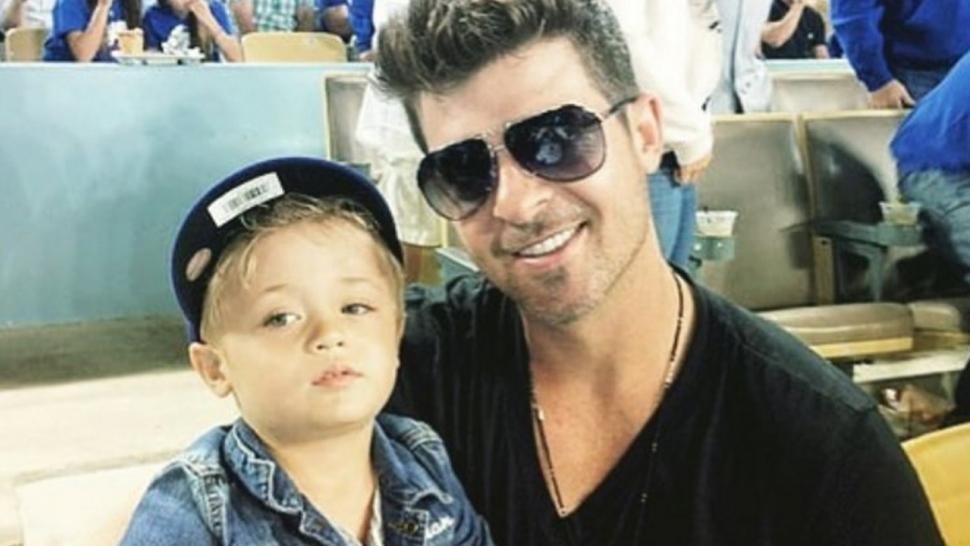 Robin Thickes Son Follows In His Fathers Musical Footsteps In