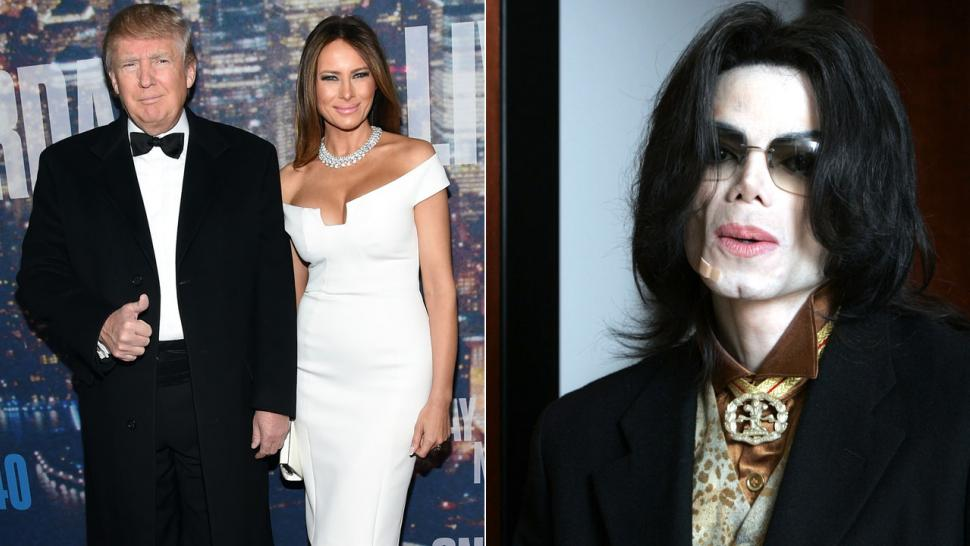 Melania Trump Says Michael Jackson Wanted To Kiss Her Make Donald Jealous
