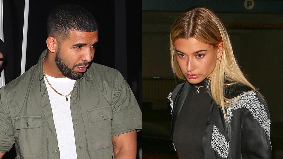 Getting Serious? Drake Wears Hailey Baldwin's 'H' Necklace ...