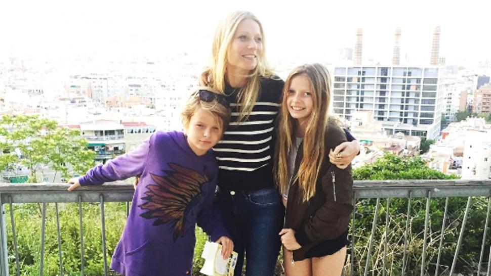 Image result for gwyneth paltrow and kids
