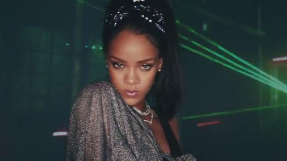 Rihanna sexy music video