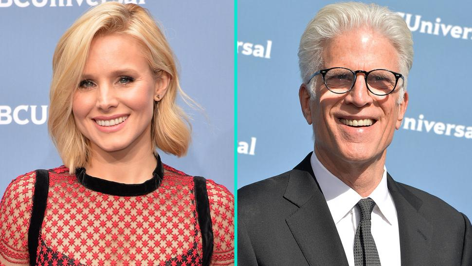 Exclusive Kristen Bell And Ted Danson Open Up About Their Ideal Good Place Cosplaying At Comic Con