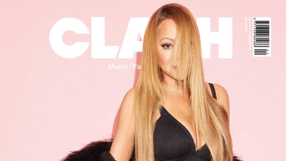 Mariah Carey Covers 'Clash' Magazine In Sexy One-Piece, Opens Up on