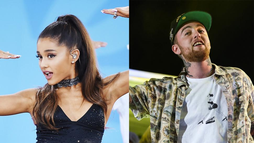 Ariana Grande and Mac Miller Are Snapchat Official -- See the Pics
