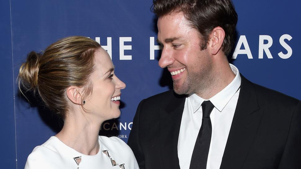 John Krasinski Emily Blunt Wedding.John Krasinski And Emily Blunt Take Romantic Trip To Italy