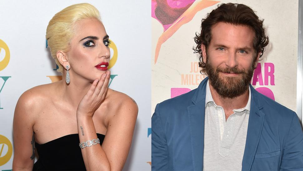Lady Gaga And Bradley Cooper Share A Smooch On Star Is Born Set See The Steamy Pic