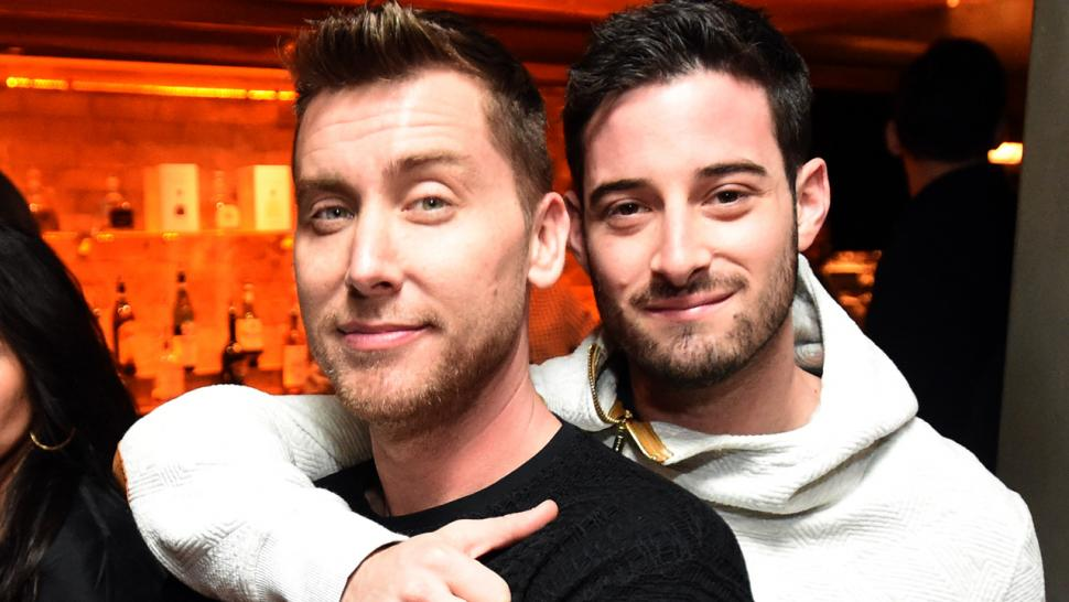 Image result for lance bass and michael turchin