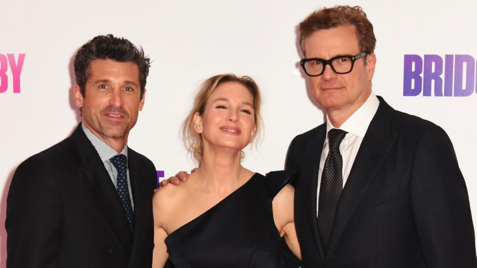 Patrick Dempsey And Wife Pack On The Pda Renee Zellweger Stuns At