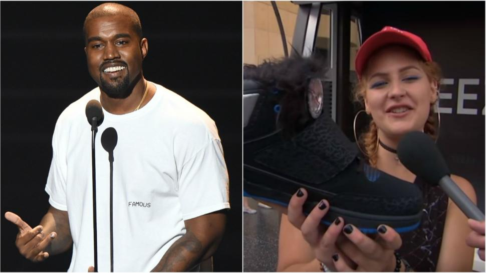 3f6a8e637 Jimmy Kimmel Tricks Kanye West Fans With Hilariously Fake Yeezy Boost Shoes  -- Watch!