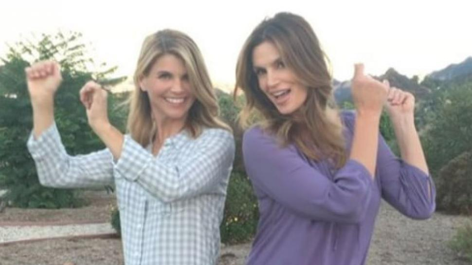 Cindy Crawford And Lori Loughlin Shake It In Adorable New