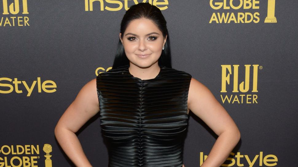 Ariel Winter Shows Off Curves In Skintight Lbd At Golden Globes