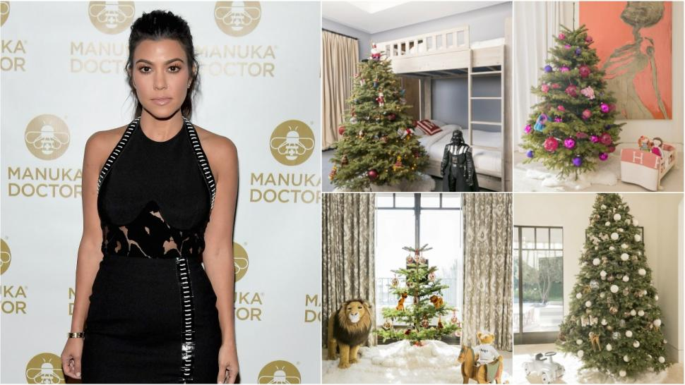 Kourtney Kardashian Has Christmas Trees for All Her Kids, Says She ...