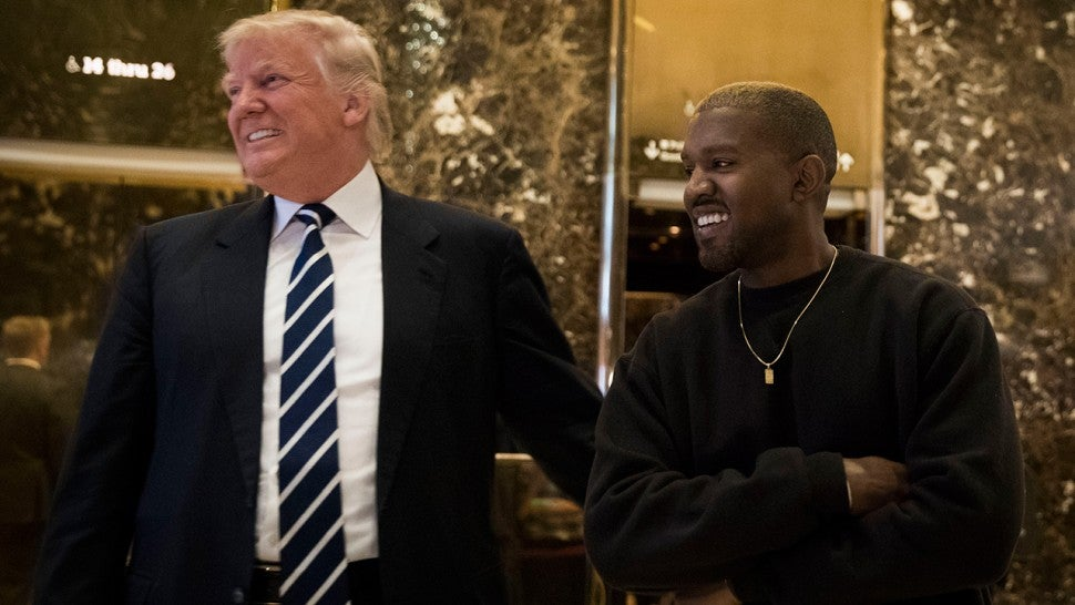 Kanye West supports Donald Trump: 'We are both dragon energy'