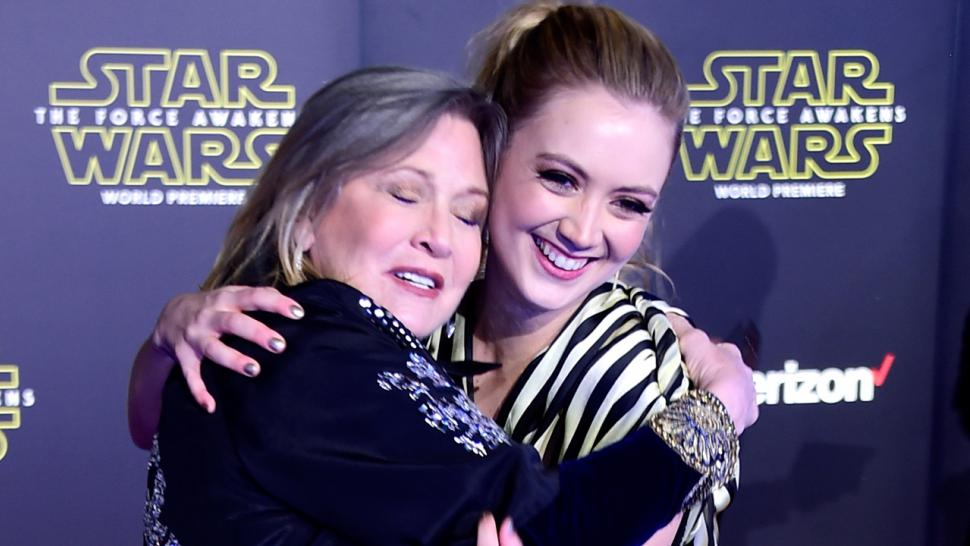 Billie Lourd Pays Tribute To Carrie Fisher As Star Wars The Last