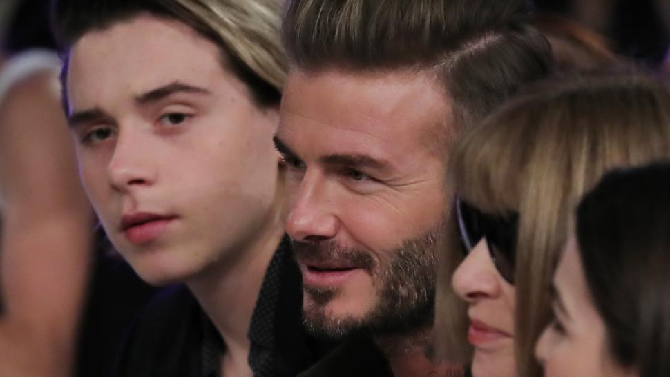 David Beckham Savagely Trolls Son Brooklyn's Instagram Live