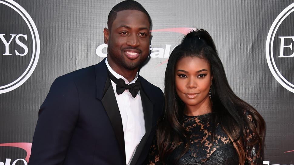 Gabrielle union and dwyane wade gush about third wedding gabrielle union and dwyane wade gush about third wedding anniversary i fall deeper in love with you junglespirit Gallery