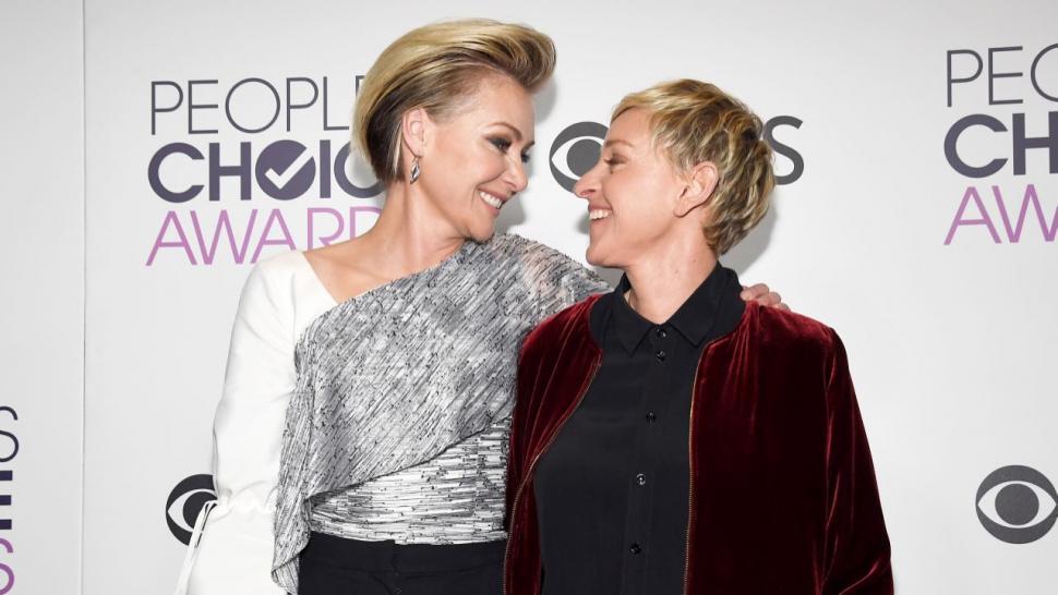 Ellen And Portia Wedding.Ellen Degeneres Shares Sweet Message For Portia De Rossi On 9 Year