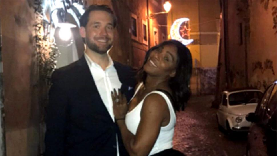 To Tonight Entertainment Williams Serena Reddit 'feels Alexis Good' Says Engagement Co-founder Ohanian
