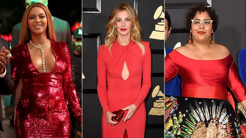 7 Red Hot GRAMMYs Looks To Inspire You This Valentineu0027s Day