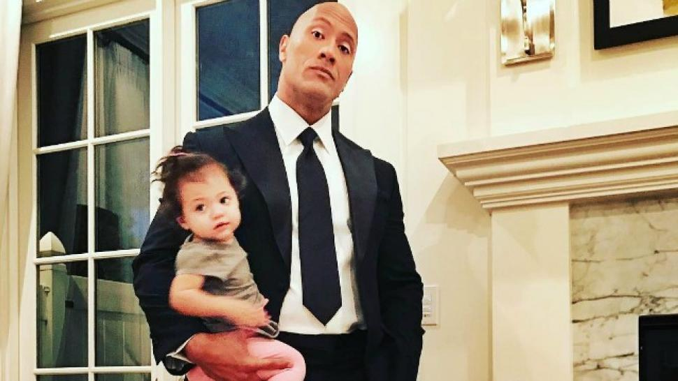 Dwayne Johnson S Daughter Might Just Be Moana In This