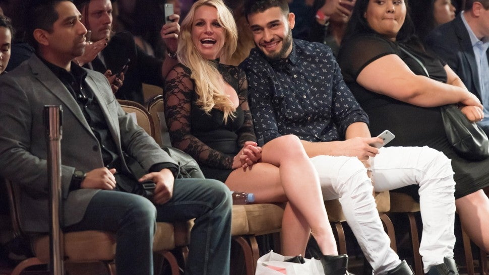 Britney dating sam