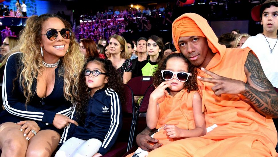 Mariah Carey and Nick Cannon Reunite at Kids\' Choice Awards, Pose in ...